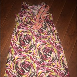 New direction women's plus size summer spring maxi